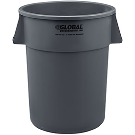 Global™ Trash Container, Garbage Can - 55 Gallon
