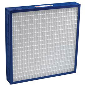 "Purolator® 5370170970 Dominator High Efficiency Filter Rigid Box Filter 20""W x 20""H x 4""D - Pkg Qty 3"