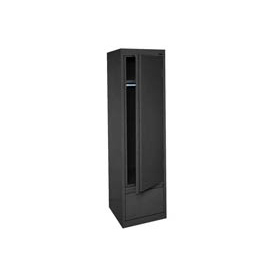 Sandusky System Series Wardrobe Storage Cabinet HAWF171864 Single Door - 17x18x64, Black