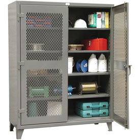 Strong Hold® Heavy Duty Ventilated Storage Cabinet 36-V-244 - 36x24x78