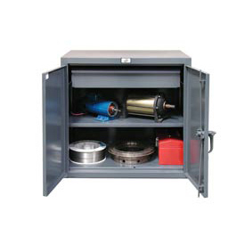 Strong Hold® Heavy Duty Counter Height Cabinet 33-201-1DB - With Drawer 36x20x36