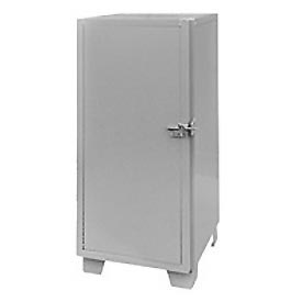"Global™ Heavy Duty Narrow Storage Cabinet MG224-SF - Solid Door 24""W x 24""D x 66""H"
