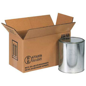 Two -1 Gallon Haz Mat Box -Hold Two (2) 1 Gallon Containers -20 Pack