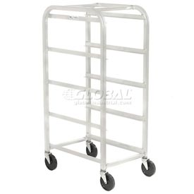 "All Welded Aluminum 4 Lug Cart, 26""L x 18-3/4""W x 51""H, No Lugs"