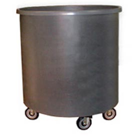 Bayhead RT-31LP Round Container Truck 78.5 Gallon, Gray