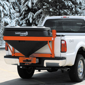 Pick Up Truck Tailgate Salt Spreader 10.7 cu. ft. and 800 Lb. Capacity - TGS-05B