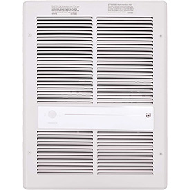 TPI Fan Forced Wall Heater HF3316RPW - 4000/3000/2000/1500W 240/208V White