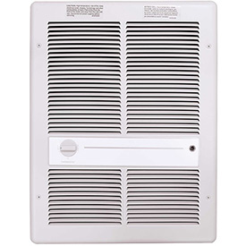 TPI Fan Forced Wall Heater E3312TRPW - 1000W 120V White