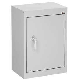 Sandusky Wall Cabinet WA11181226 Single Door - 18x12x26, Light Gray