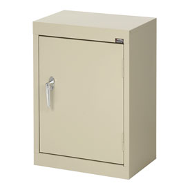 Sandusky Wall Cabinet WA11181226 Single Door - 18x12x26, Putty