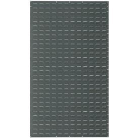 Louvered Wall Panel Without Bins 36x61
