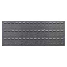 Louvered Wall Panel Without Bins 48x19