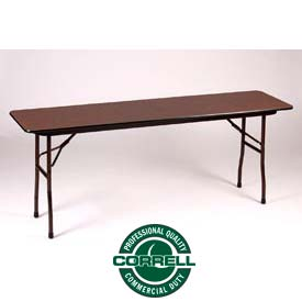 Laminated Folding Table 18 X 72 - Walnut