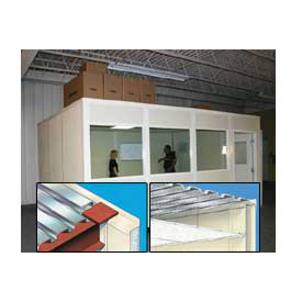 Modular Partition Storage Roof For Four Wall 10' X 10'