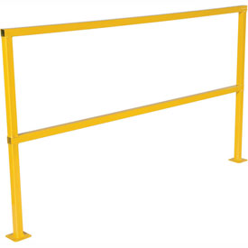 "Square Steel Guard Rail 42""H X 72""L"