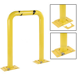 "Removable Steel Machinery Rack Guard 24""H X 48"" L"