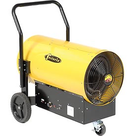 TPI Fostoria Salamander Heater Portable Electric FES-4548-3 - 45KW 480V 3 Phase Yellow