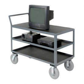 Three Shelf Audio Visual & Instrument Truck 60 x 30 1200 Lb. Capacity