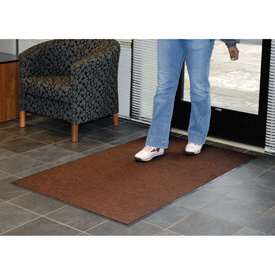Absorbent Ribbed Mat 72 Inch Cut Size Walnut