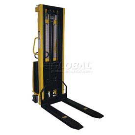 Vestil Battery Operated Lift Stacker SL-118-FF Fixed Forks Over Fixed Legs