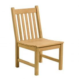 Oxford Garden® Classic Outdoor Side Chair - Teak