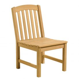 Oxford Garden® Chadwick Outdoor Side Chair - Teak