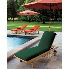 Oxford Garden® Oxford Chaise Cushion - Hunter