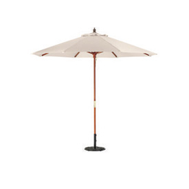 Oxford Garden® Market Outdoor Umbrella 9' - (Natural -poly)