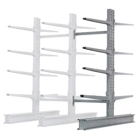 "Cantilever Rack Double Add-On Unit Extra Heavy Duty, 48"" W  x 65"" D x 8' H, 43000 Lbs. Capacity"