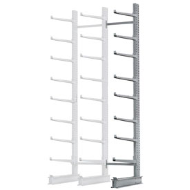 "Cantilever Rack Single Add-On Unit Extra Heavy Duty, 72"" W  x 61"" D x 12' H, 12500 Lbs Capacity"