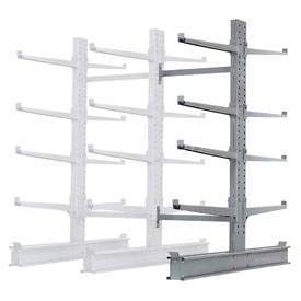 "Cantilever Rack Double Add-On Unit Extra Heavy Duty, 48"" W  x 65"" D x 8' H, 43000 Lbs Capacity"