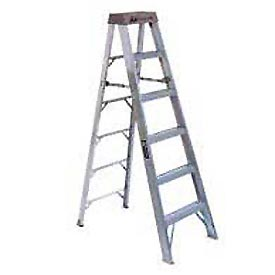 Louisville 10' Type 1A Aluminum Step Ladder - AS101-0
