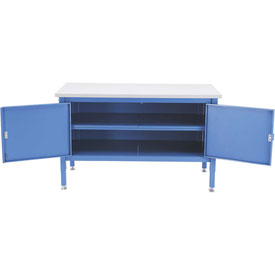 60 x 30 Security Cabinet Bench - ESD Safety Edge