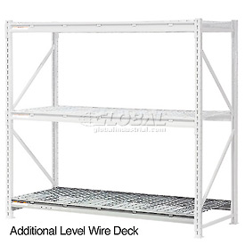 "Additional Level 96""W x 36""D Wire Deck"