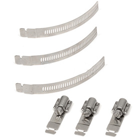 Make-A-Clamp - 10 Adjustable Fasteners  - 1 Pack