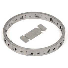 Make-A-Clamp - 50ft Band,5 Band Splices  - 1 Pack