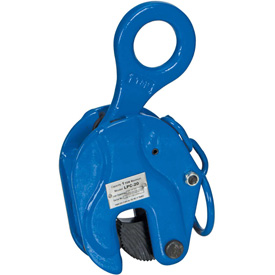 Vestil Locking Vertical Plate Clamp Lifting Attachment LPC-20 2000 Lb. Capacity