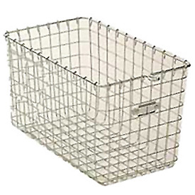 "Steel 9620 Wire Locker Basket 12""W"