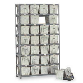 Penco Basket 6593-0 Rack Locker For 32 Baskets 40x13x79