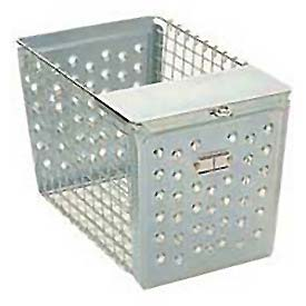 "Penco Steel 964-3 Basket With Pilfer Guard 12""W"