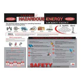 Poster, Hazardous Energy Control, 18 x 24