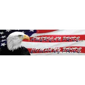 Banner, American Pride Company Pride, 3ft x 10ft