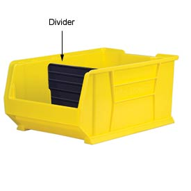 Akro-Mils Width Divider 41287 For 30287/30292/30293 Stacking Bins, Price Per Pkg of 6
