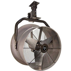 "Triangle Engineering 24"" Oscillating Vertical Mount Fan With Poly Housing 245537 1/2 HP 5600 CFM"
