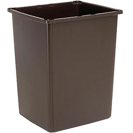 Rubbermaid Glutton® 56 Gallon Container - Brown