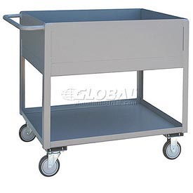 Jamco Extra Deep Shelf All Welded Steel Service Cart NA230 1200 Lb. Cap.