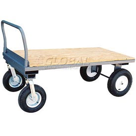 Jamco High Wood Deck Platform Truck EZ360 2500 Lb. Cap.