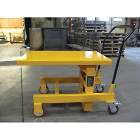 Wesco® Hydraulic Die Lift Table 273265 2000 Lb. Capacity
