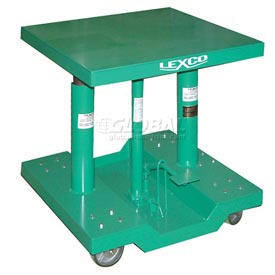 "Lexco® - Wesco® Lift Table 492193 30""L x 30""W 2000 Lb. Capacity"