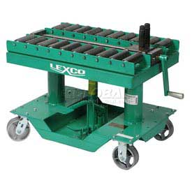 "Optional Roller Conveyor Top 499235 for Lexco® - Wesco® 30""L x 30""W Lift Table"